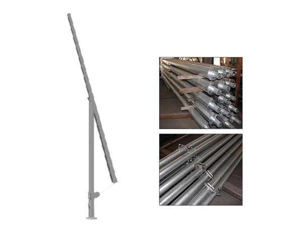 Hinged Steel Pole