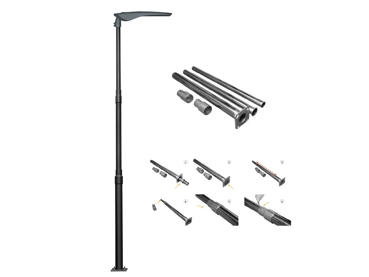Detachable Telescopic Lighting Pole