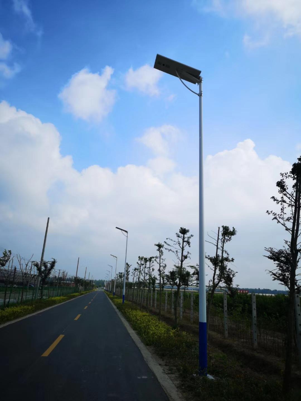 Ssl001 008 Integrated Solar Street Light Hmostar Lighting